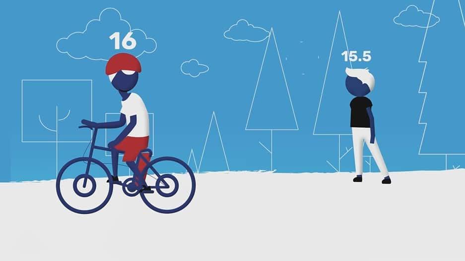 גיל מותר לרכיבה על אופניים חשמליים