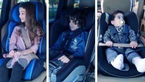 סוגים שונים של מושבי בטיחות וכיסאות בטיחות ובוסטרים