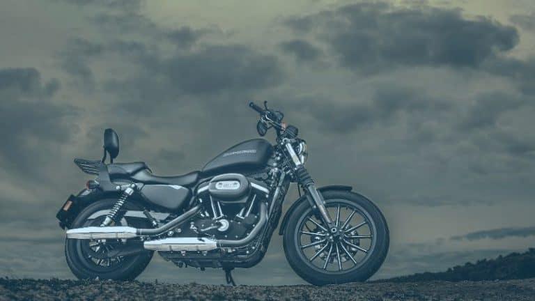 אופנוע בערפל