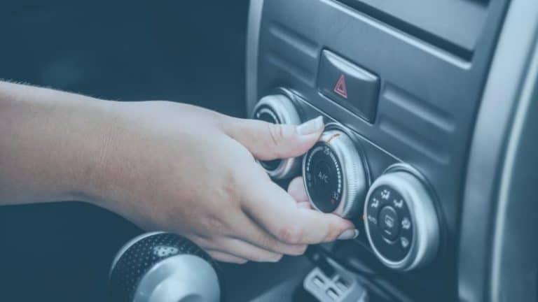 הדלקת מפשיר אדים ברכב