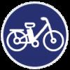 אייקון של אופניים חשמליים